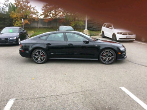 2017 Audi A7 3.0T Technik & Competition Package Lease Transfer