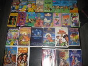 plus de 200 vhs et plus de 60 dvd a vendre ou echanger !!