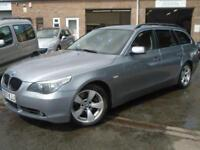 2007 07 BMW 5 SERIES 2.0 520D SE TOURING 5D 161 BHP DIESEL
