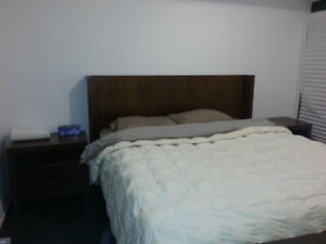 Modern bedroom set. Priced to sell!