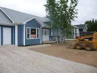 brand new executive style house rental in deer lake