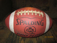 SPALDING CFL Leather Football For Sale