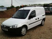 Vauxhall Combo 1.3CDTi 16v 2000 EX BT SUPER LOW MILES