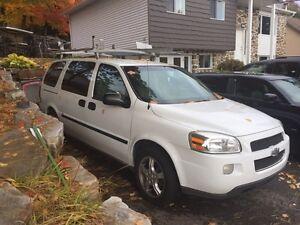 Chevrolet Uplander 2007 équipé pour le travail