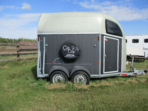 "Bockmann Duo RA horse Trailer for Sale ""As Is"""