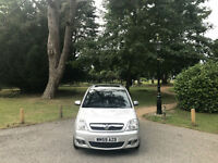 2010 Vauxhall Meriva 1.6i 16v Design Automatic 5 Door Mpv Silver