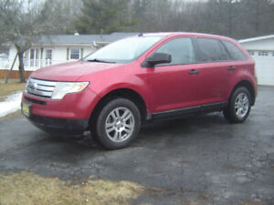 2010 FORD EDGE FRONT WHEEL DRIVE