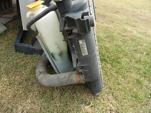 2002 Dodge Diesel Radiator with Shroud and Bottles