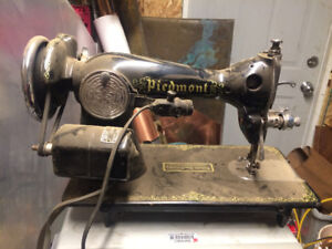 Vintage Piedmont Sewing Machine