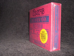 The Doors Live in New York 1970 (2009) Coffret 6 cds Psy Rock