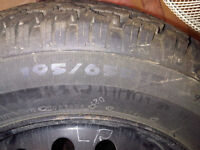 Great 4 Bolt Winter Tires n RIms 195/65/R15