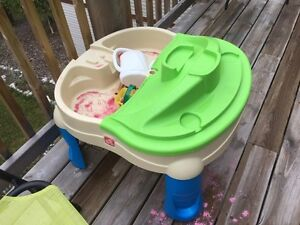 Sand and water table $8
