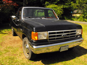 1989 Ford F-250 Pickup Truck, low mileage! REDUCED!!!
