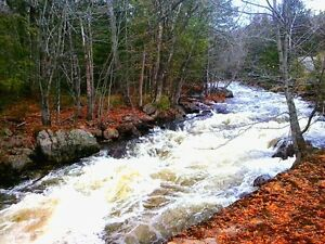 DEAL!!! BEAUTIFUL RIVERFRONT PROPERTY WITH CASCADES