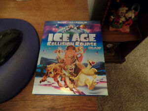 ICE AGE Collision Course (Blu-Ray, DVD, Digital Copy) ~ AS NEW