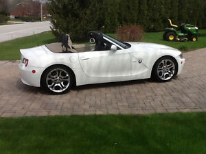 2005 BMW Z4 tan Convertible