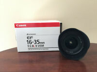 CANON EF 16-35mm F2.8L II USM EXCELLENT CONDITION