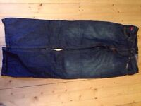 ICON mens Strongarm jeans size 32 33 Motorcycle Jeans