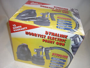 Dynalink Hobbyist Electric Paint Gun. BRAND NEW! Sealed in Box! Prospect Launceston Area Preview