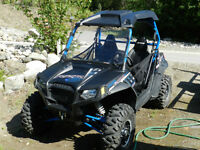 2014 Polaris RZR 800 S LE Stealth Black with Trailer