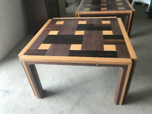 Wood coffee Table set