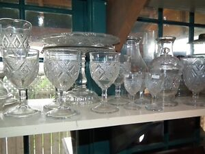 COLLECTION OF ANTIQUE EARLY CANADIAN PRESSED GLASS Sarnia Sarnia Area image 3