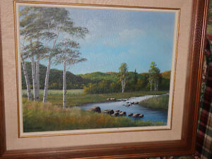 BILL WILLIAM SAUNDERS CANADIAN ORIGINAL PAINTING West Island Greater Montréal image 4