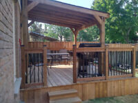 Deck Fence Gazebo Pergola Insurance Warranty Quality Toronto GTA