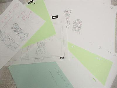 IKKI TOUSEN Animation Art Design Works Model Sheet Book Ltd