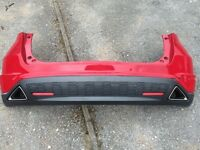 Honda Civic 2007 rear bumper