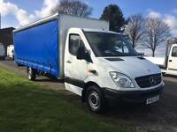 Mercedes Sprinter 3.5T 313Cdi Brand New Extra Long 20ft (6m) Curtain Side Body