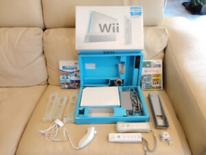 Nintendo Wii Sports Bundle with many Added Accessories & 2 Games