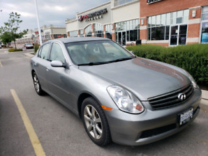 2015 Infinity G35X Low original mileage