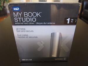 WD 1TB My Book Studio Mac External USB 3.0 Hard Drive HDD *New*
