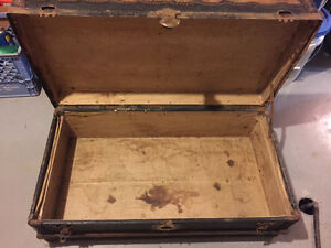 Flat top luggage trunk Antique Oakville / Halton Region Toronto (GTA) image 5