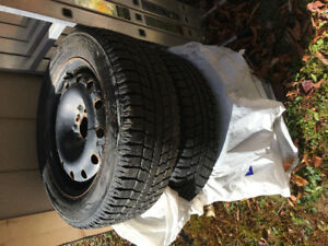 Toyo Observe GSI-5 with rims 205/55/16