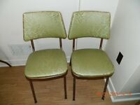 ***ART DECO CHAIRS BY PERFECT CHROME FURNITURE***