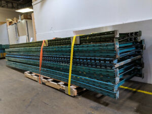 Industrial Shelving ,  Pallet Racking - USED, Sold as 1 lot