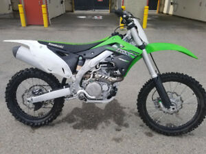 2015 Kawasaki KX450F Low Hours