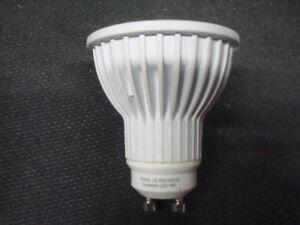 LED MR16 120V GU10 BASE 8w COOL WHITE BRIGHT LAMP