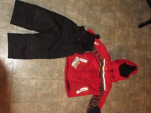 Red Winter jacket and snow pants  3T Kitchener / Waterloo Kitchener Area image 1