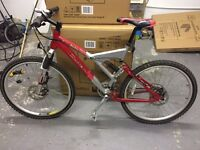 Carerra Full Suspension Mountain Bike