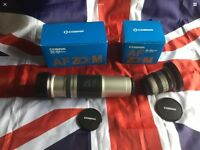 CANON FIT BOXED COSINA 100-400mm & 19-35mm AUTOFOCUS LENSES!! SUPER!!