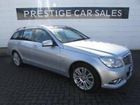 2012 Mercedes-Benz C Class 2.1 C220 CDI BlueEFFICIENCY Elegance 5dr Diesel silve