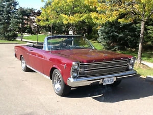 66 Ford galaxie 500 convertible