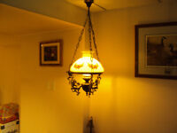 Retro hanging light ficture