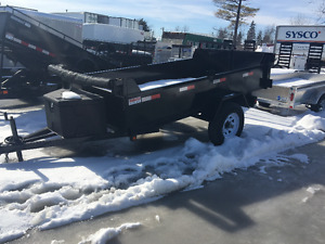5x10 Single Axle Dump Trailer
