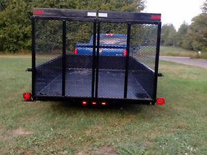 2016 6x10 utility trailer with ramp s