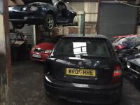 Skoda fabia vrs breaking 5 cars in for parts can post parts out
