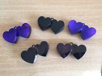 Heart balloon weights